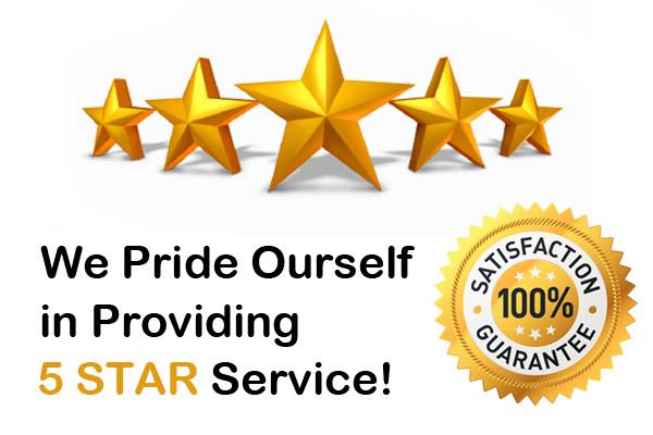 5 stars service